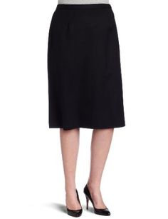 Pendleton Women's Plus Size Lana Skirt, Black, 18W Pendleton. $138.00