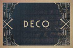 16 Art Deco Borders by Tugcu Design Co. on @creativemarket
