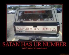 Yes, this is Satan.