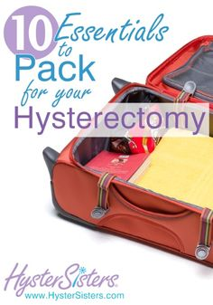 What are the most important things to take to the hospital?   As you pack your bag, you may be thinking you should take more to the hospital (http://www.hysters