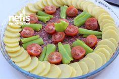 Tepsi Kebabı Iftar, Turkish Recipes, Italian Recipes, Ethnic Recipes, Turkish Sweets, Fish And Meat, Diy Food, Fresh Fruits And Vegetables, Fruit Salad