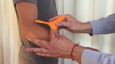 Heskiers Method and Heskiers OneTool - treatment of Tennis Elbow Self Treatment, Athlete