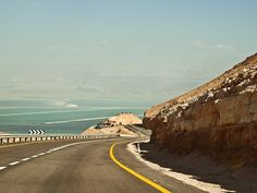 The road to the Dead Sea, 2013