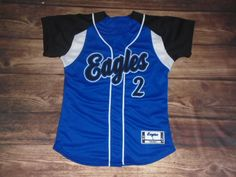 Have a look at this custom jersey designed by Eagles Softball and created at Winning Seasons in Lakewood, WA! http://www.garbathletics.com/blog/eagles-softball-custom-jersey-5/ Create your own custom uniforms at www.garbathletics.com!