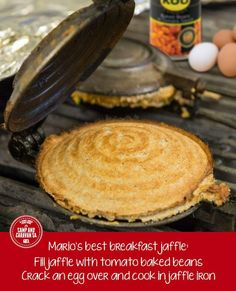 Jaffels Toast Sandwich, South African Recipes, Mini Pies, Baked Beans, Best Breakfast, Savoury Pies, Food And Drink, Cooking Recipes, Yummy Food