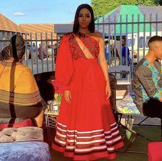South African Traditional Dresses, Xhosa Attire, Zulu, Wedding Attire, Pedi, Perfect Wedding, Beautiful Dresses, Feminine, Saree
