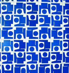 Painel de azulejos (obra demolida), Sauna da Sede Social, Clube do Congresso, 1972. Brasília – DF, Brasil Arquitetos Anna Maria Niemeyer e Ítalo Campofiorito Foto Tuca Reinés.