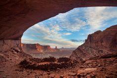 False Kiva in Canyonlands National Park by Tom Cuccio | Earth Shots