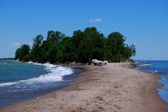 Point Pelee National Park, view from the point. Places To Travel, Places To See, Fun List, Lake Erie, Canada Travel, Natural Wonders, Geography, Trip Planning, Lakes