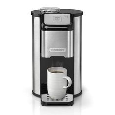Cuisinart DGB1U One Cup Grind and Brew Filter Coffee Machine, Coffee Maker Machine, Best Coffee Maker, Espresso Machine, Coffee Machines, Percolator Coffee Maker, Cappuccino Maker, Best Beans, Single Serve Coffee