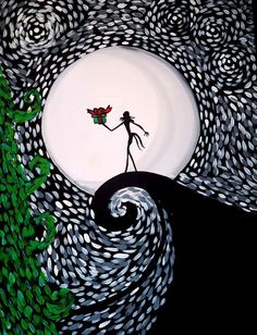 """Starry Christmas Night - Pinot's Palette The Glen (Glenview, IL). Paint with us, """"Starry Christmas Night"""" this December and always. See our full calendars. Christmas Night, Christmas Art, Homemade Christmas, Sketchbook Cover, Paint And Sip, Cool Paintings, Paint Party, Art Techniques, Nightmare Before Christmas"""
