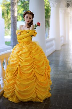Princess's dream by Ryoko-demon.deviantart.com #Belle #Cosplay