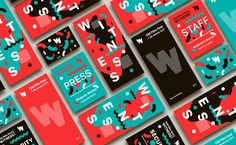 Showcase and discover creative work on the world& leading online platform for creative industries. We Are Festival, Event Branding, Unique Poster, Identity Design, Brochure Design, Brand Identity, Creative Industries, Interactive Design, Page Design