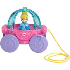 Disney Princess Musical Carriage Pull Toy