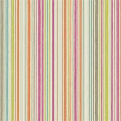 Buy Raspberry / Multi, 110458 Scion Ashanti Paste the Wall Wallpaper from our Wallpaper range at John Lewis & Partners. Striped Wallpaper, Print Wallpaper, Wallpaper Roll, Pattern Wallpaper, True Colors, Colours, Design Repeats, Adhesive Wallpaper, Raspberries