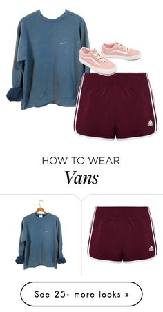 """""""Liam Dunbar inspired"""" by samtiritilli on Polyvore featuring NIKE, adidas and Vans"""