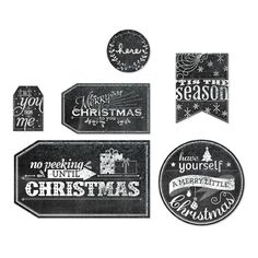 Chalkboard Technique - To You From Me Designer Template - Digital Download #132811