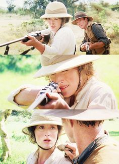 "With Robert Redford in ""Out of Africa"" (1985)"