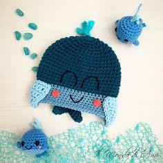 Berrettino acquatico 🐳 #amigurumi #handmade #crochet #fattoamano #uncinetto #berretto #hat #bimbi #bimbe #child #balena #whale