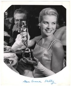 Weegee, Grace Kelly, ca. 1954 (10226.1993)  In 1954 Grace Kelly won an Academy Award for her performance in The Country Girl. Last night, the Academy of Motion Picture Arts and Sciences Award bestowed its statuettes for excellence of cinematic achievement, as it has done annually since 1929.