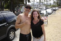 Tim Chapman and I from the Bounty Hunter in Hawaii!