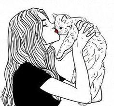 Sara Herranz - Fille chat