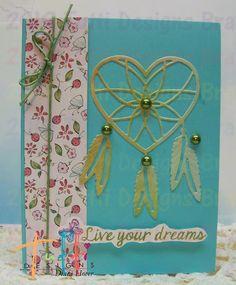 Tutti Designs: Heart Dream Catcher