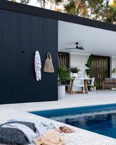 Pool House Designs, Backyard Pool Designs, Swimming Pools Backyard, Backyard Pool Landscaping, Outdoor Rooms, Outdoor Living, Pool Landscape Design, Garden Design, Pool Cabana