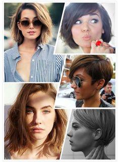 Short hair maybe (: