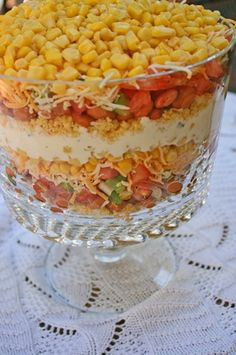 corn bread salad I have been looking for this recipe for quite some time and could never find it.  Thank You!!!