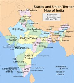 clear political map of india with states and capitals and union territories 41 Best Map Of India With States Images India Map India Images Map clear political map of india with states and capitals and union territories