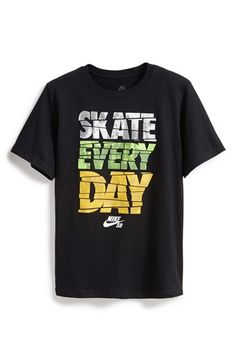 Boy's Nike 'Skate Every Day' Graphic T-Shirt
