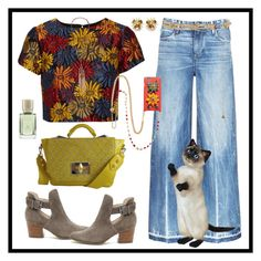 """""""A Saturday State of Mind"""" by winscotthk ❤ liked on Polyvore featuring Tortoise, Alice + Olivia, Sole Society, Dolce&Gabbana, Treesje, New Look, Radà and Ex Nihilo"""