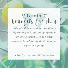 Confused which skincare ingredients are active against ageing? Well dear friend, you can safely add vitamin C to your anti-ageing skincare list. Vitamin C helps skin to build collagen (proven), is an antioxidant and a lightning and brightening agent (goodbye age spots). Click through to find out more.