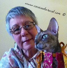Coco, the Couture Cat: #BlogPaws Wordless Wednesday Blog Hop! The Cat's O... Pet Fashion, Cat Walk, Fundraising, French Bulldog, Couture, Pets, Blog, Animals, Wednesday