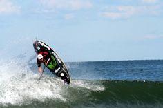 International surf kayaking event.