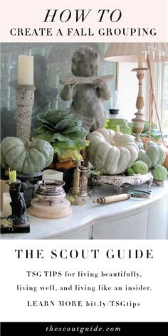 How to Create a Fall Grouping