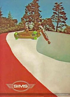SIMS AD #sims #skateboarding #oldskool