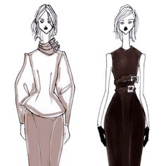 ISSA GRIMM concept sketches #fashiondesign #fashionillustration