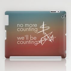 One Republic - Counting Stars iPad Case by AudioVisuals - $60.00