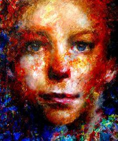 John Paul Thornton - the-missing-children-portraits-of-hope Artist Inspiration, Kids Portraits, Illustration, Amazing Art, Artist, Painting, Graphic Image, Portrait Painting, Modern Portraits