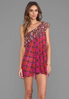 Maaji Short Dress in Bias Hearties from REVOLVEclothing.com