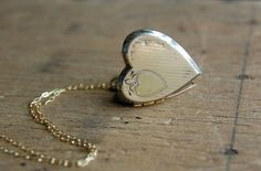 Vintage 1950s Locket. Etsy. $48.00.