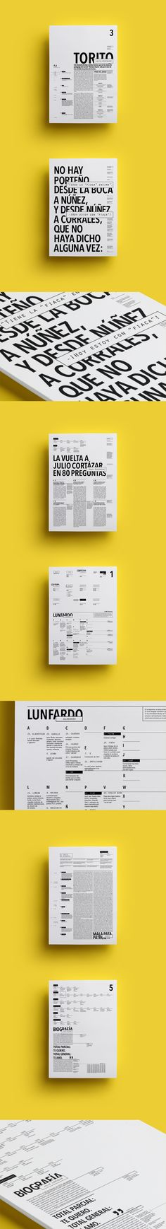 LUNFARDO | Editorial - Tipografía 2 Longinotti