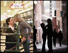 Nikkel and Carl - Pike Place Market - Seattle Engagement Photography