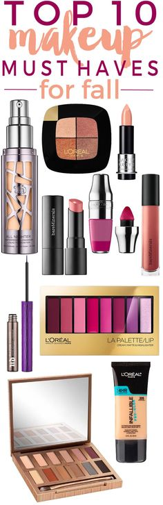 10 NEW Makeup Must-Haves for Fall