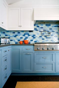 Love the classic look of subway tile, but want to try something a bit different in your kitchen? HGTV.com shares 11 beautiful alternative designs for your subway tile kitchen backsplash.