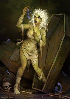 Awesome Halloween Horror Art from MattDixon - News - GeekTyrant
