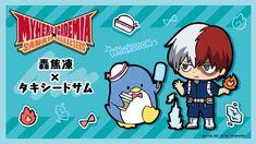 Funko POP! My Hero Academia x Hello Kitty & Friends: TuxedoSam Todoroki 795