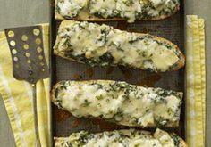Spinach-Artichoke French Bread Pizza.
